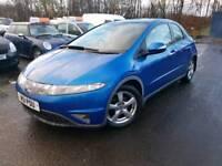 Honda Civic, 2006, Finance Available, MOT NOV 2018, Just been serviced,Warranty Inc