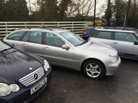 Mercedes c220 CDI Estate 2002 Car come in for PX, for sale to clear