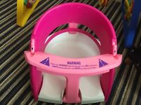 Baby safety bath seat. With suction pads very secure.