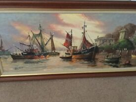 Terry Burke oil painting,
