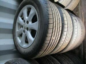 215 60 R16 2007 Toyota Camry Tire with Rim