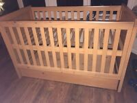 Baby / Toddle cot bed - Bruin hadlow
