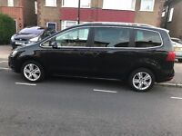 Volkswagen sharan / seat Alhambra 2014 7 seater, automatic diesel Pco hire rent UBER READY!!