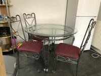 Dinning table plus 4 chairs