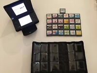 Black Nintendo DSI With Games, Cases And Charger