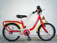 "(2170) 16"" LIGHTWEIGHT PUKY Z6 Boys Girls Kids Childs Bike Bicycle Age: 5-7 Height: 105-125 cm RED"