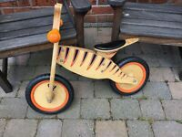 CHILDREN'S TP TIGER BALANCE BIKE