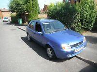 Ford Fiesta 1242 cc zetec s,16v ghia,5 dr h/back,2001,mot feb,tax march,pas,ac,cl,ew,em,cd alloys