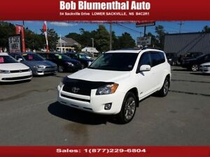 2012 Toyota RAV4 Sport 4WD w/ Sunroof, Bluetooth, Cruise REDU...