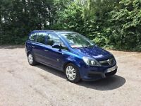 07 Vauxhall Zafira 7 Seater 1.8I Life 5Dr Only 56k miles april 18 mot full service history.