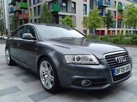 2009 AUDI A6 S Line Le Mans 2.0 TDI 170 BHP 6 SPEED MANUAL. FULL SERVICE HISTORY. Sat Nav. Xenons