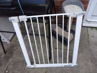 safety stair gate with fittings