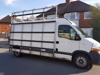 2009 RENAULT MASTER DCI 120 LONG WHEELBASE HIGH ROOF A1 CONDITION NO VAT GLASS TRANSPORT RACKING
