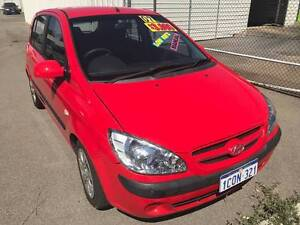 2007 HYUNDAI GETZ SX TB UPGRADE 5D HATCHBACK 5 SP MANUAL  $3490 Beckenham Gosnells Area Preview