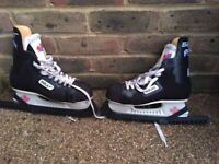 Bauer 25 ice skates for sale