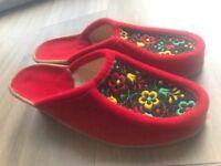 Ladies Vintage Slippers