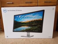 "Dell UP3216Q 32"" Ultra HD 4K Monitor - 2016 Model A02 -Never Used New"
