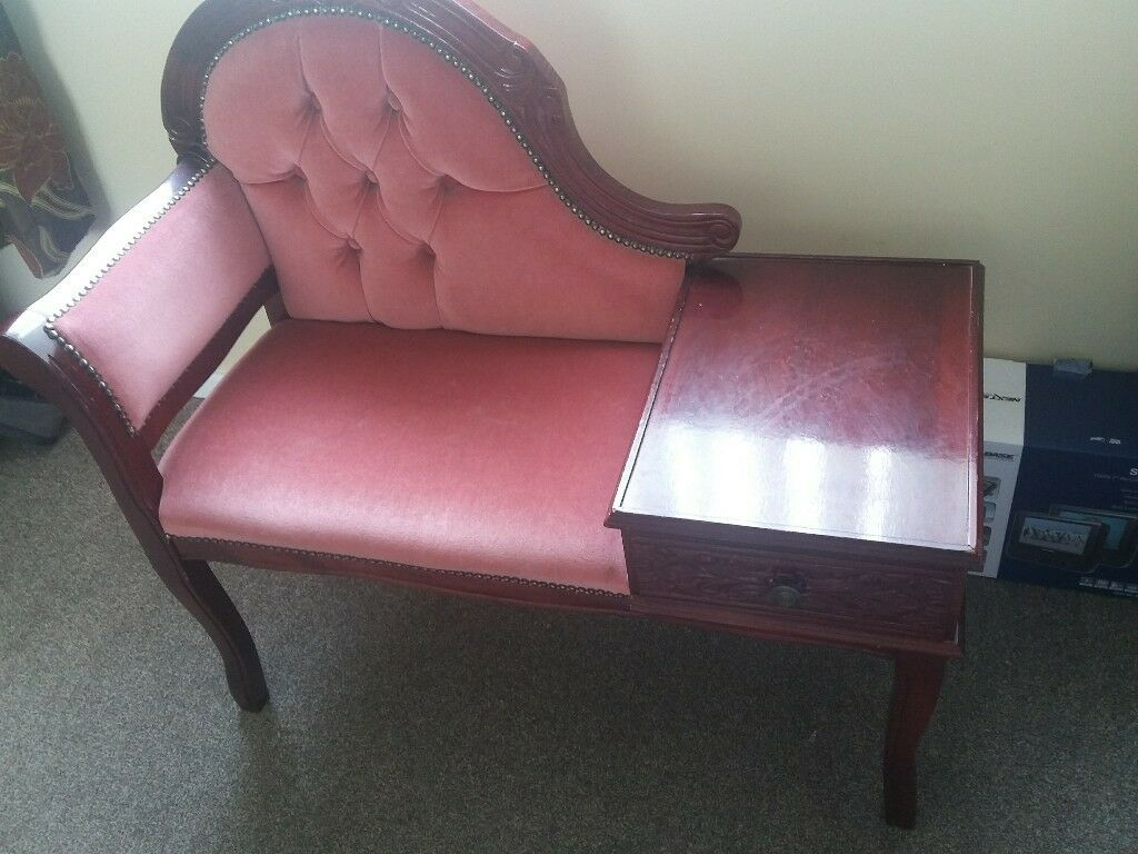 Hall Seat With Telephone Table Upcycling Opportunity In Huddersfield West Yorkshire Gumtree