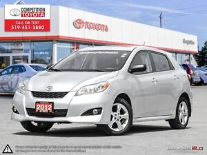 2012 Toyota Matrix One Owner, No Accidents
