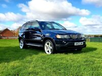 2003 BMW X5 4.6is M Sport black AUTO 101k FSH CARDS/DELIVERY/PX !!!
