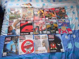 Batch of Judge Dredd/2000AD Megazines