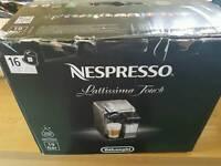 Delonghi nespresso latissima touch