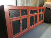 Antique 20th century large Chinese sideboard