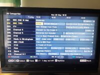 Sony Bravia LCD 40 inch TV with freeview