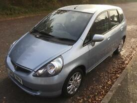 Honda Jazz 1.4i dsi cvt-7 Se 2006, auto 7 speed tiptronic, blue, 17k f/sh 1yrs mot