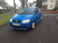 """2003 (53) FIAT PUNTO ACTIVE SPORT 1.2 PETROL """"DRIVES GOOD + IDEAL FIRST CAR + P/X TO CLEAR"""""""