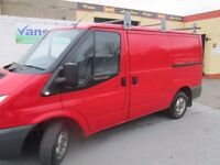 2008 ford transit short low 91000 miles mot to 6 oct 2017 towbar and roof rack £3000