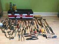 120 piece plumbers toolbox and tools
