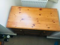 URGENT: Wooden Chest of drawers