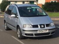 2004 SEAT ALHAMBRA 1.9 TDI 7 SEATER DRIVES LOVELY GOOD CONDITION GALAXY SHARAN ZAFIRA