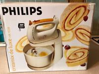 Philips Creamix de Luxe electric bowl mixer