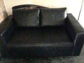 Brown sofa 2seater