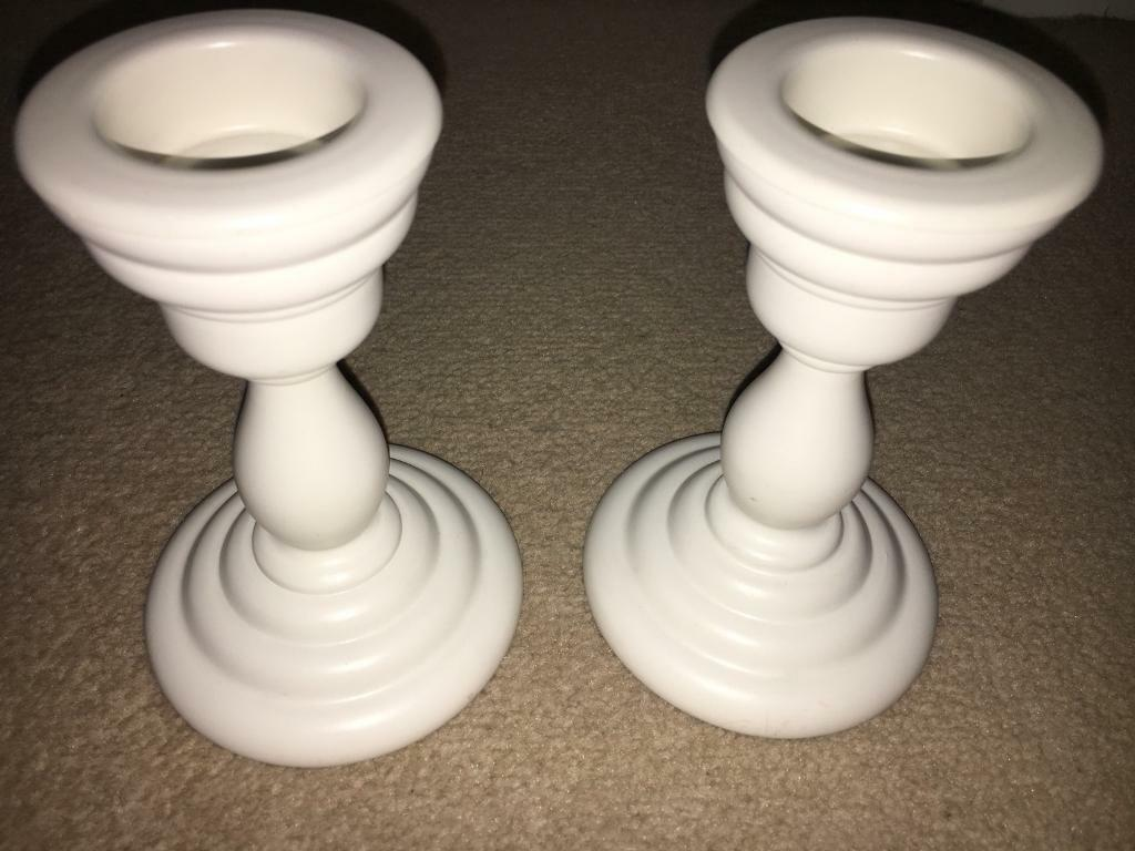 Brand new candle holders