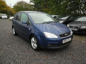 2007 FORD FOCUS C-MAX 1.6 TDCi--LONG MOT-112K WITH GREAT HISTORY