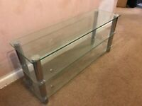*FREE* Glass TV stand