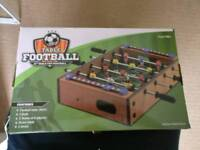 Table football game!