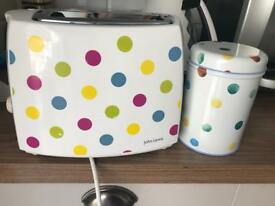 Emma bridgewater toaster and tin