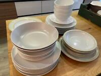 Mixed crockery Next and Ikea