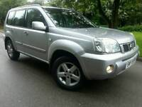 NISSAN X-TRAIL 2.2DCI SVE*2004*TOP SPEC*PAN-ROOF*LEATHER*H/SEATS*MINT CONDN*#4X4#SUV#JEEP