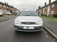 Ford mondeo Titaniuam 2.0 litre diesel, Estate, for sale, service history, drives well.