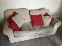 Sofa, bit tatty but free! (If you pick it up)