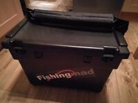 Fishing Seat Box, Reels and Tackle - Mostly New
