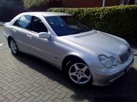 2003 Mercedes Benz C180 auto NEW MOT & FULL SERVICE HISTORY Excellent condition Immaculate no rust!