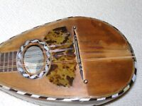 Mandolin - old but restored, with new case
