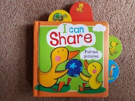'I Can Share' (Pull Out Pictures) Book (1+) - £2