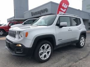 2017 Jeep Renegade Limited, NAV, Leather